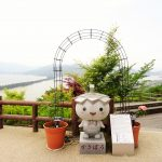 傘松公園では天橋立を股から覗いたり、リフトから見たり、かわらけを投げれるよ!
