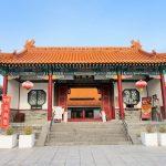 中国庭園燕趙園は三国志の雰囲気が味わえ、はわい温泉の絶景を見渡せる!