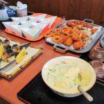 道の駅くみはまSANKAIKANでは魚料理を楽しめバイキングが950円と安い!